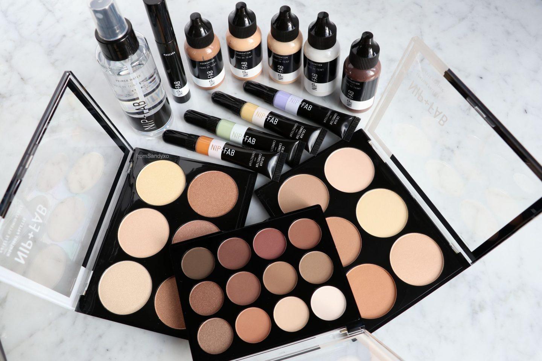 Brand Focus Nip Fab New Makeup Range Review Fromsandyxo